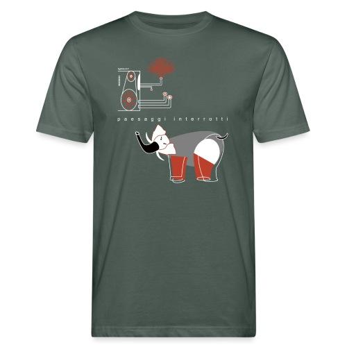 PAESAGGI INTERROTTI - T-shirt ecologica da uomo