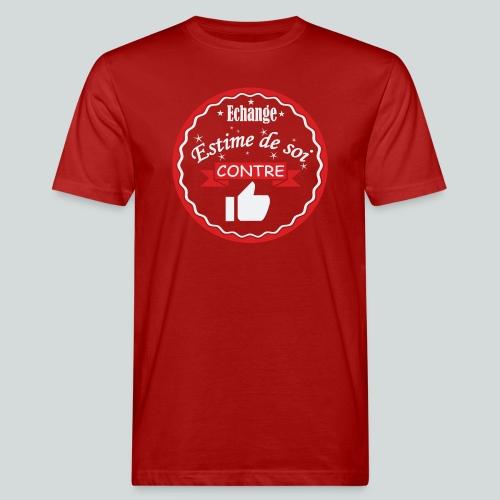 Echange estime de soi contre des Likes - T-shirt bio Homme