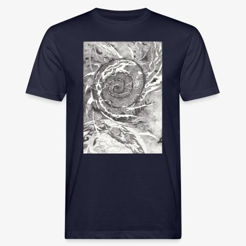 Decipher Entity by Rivinoya - Miesten luonnonmukainen t-paita