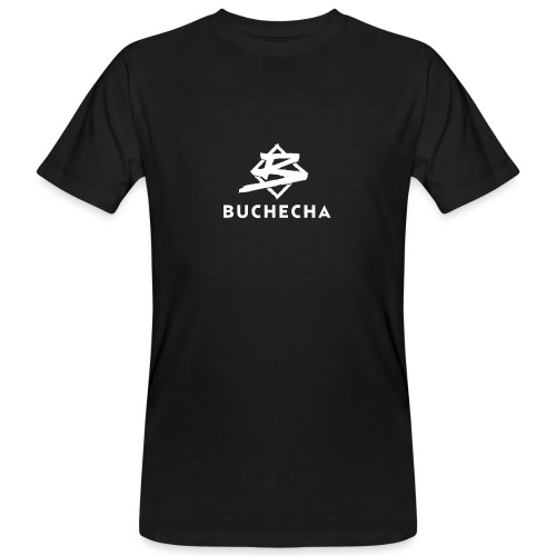Logo White Basic - Camiseta ecológica hombre