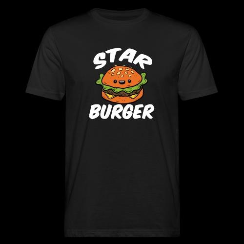 Star Burger Brand - Mannen Bio-T-shirt