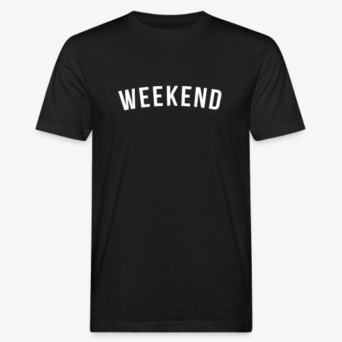 WEEKEND WHITE - Men's Organic T-Shirt