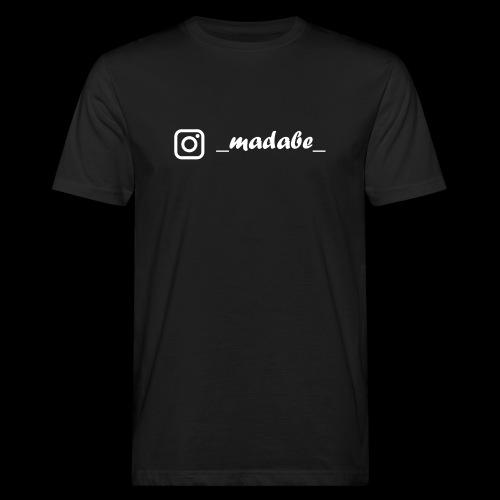 madabe instagram weiss - Männer Bio-T-Shirt