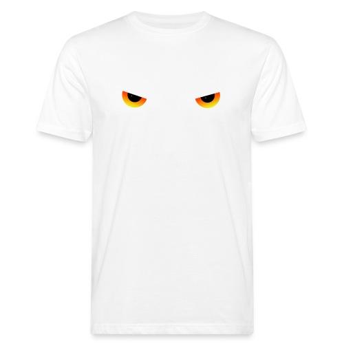 Augen feurig - Männer Bio-T-Shirt
