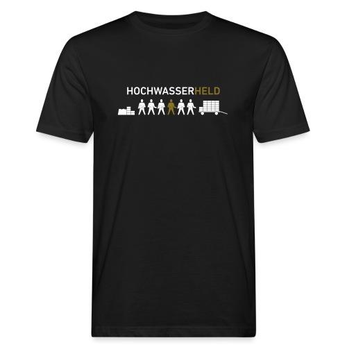 HOCHWASSERHELD - Männer Bio-T-Shirt