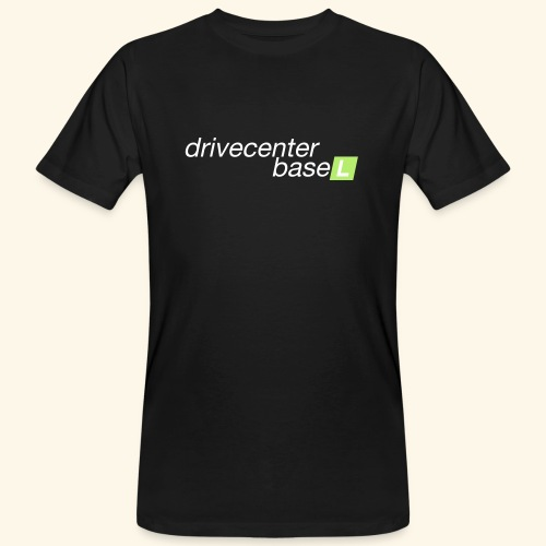 drive center logo - Männer Bio-T-Shirt