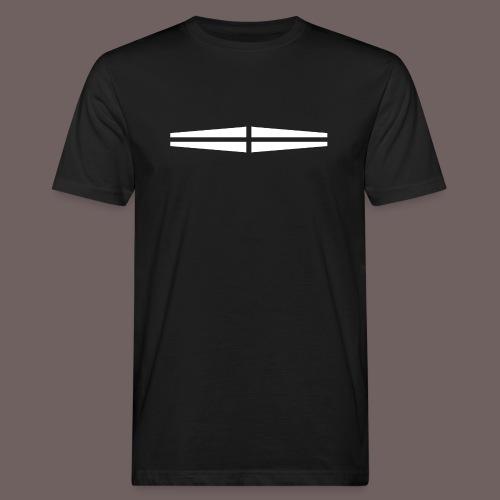 GBIGBO zjebeezjeboo - Rock - Traversant Blanc - T-shirt bio Homme