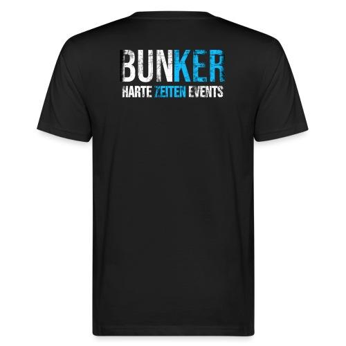 Bunker & Harte Zeiten Supporter - Männer Bio-T-Shirt