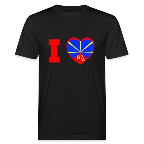 I love 974 - Lo Mahaveli - T-shirt bio Homme