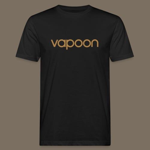 Vapoon Logo simpel 01 - Männer Bio-T-Shirt