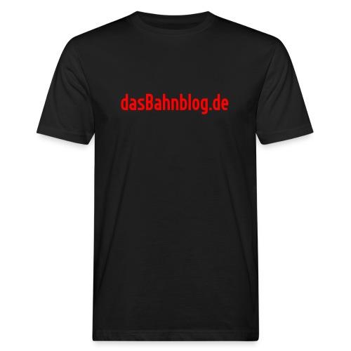 dasBahnblog de - Männer Bio-T-Shirt