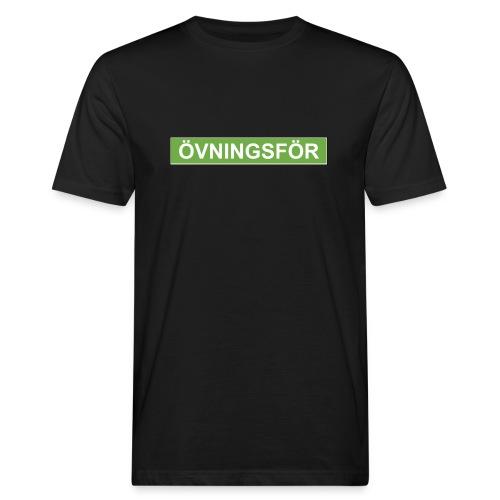 ÖVNINGSFÖR - Ekologisk T-shirt herr