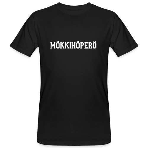 mokkihopero - Miesten luonnonmukainen t-paita