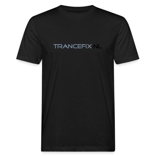 trancefix text - Men's Organic T-Shirt