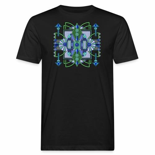 Wegwijzer Navota Design - Mannen Bio-T-shirt