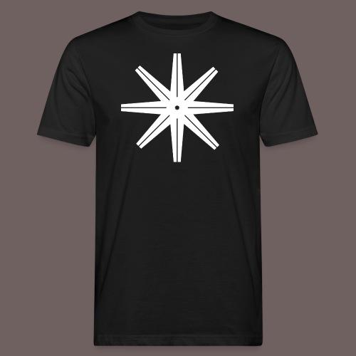 GBIGBO zjebeezjeboo - Rock - Octastar Blanc - T-shirt bio Homme
