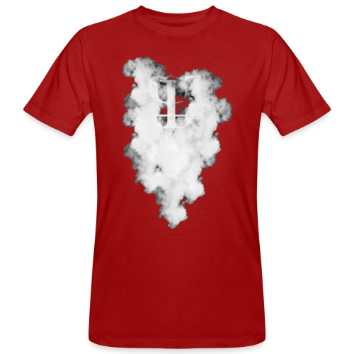 Smoke Logo - Men's Organic T-Shirt