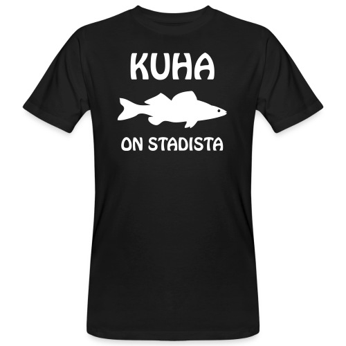 KUHA ON STADISTA - Miesten luonnonmukainen t-paita