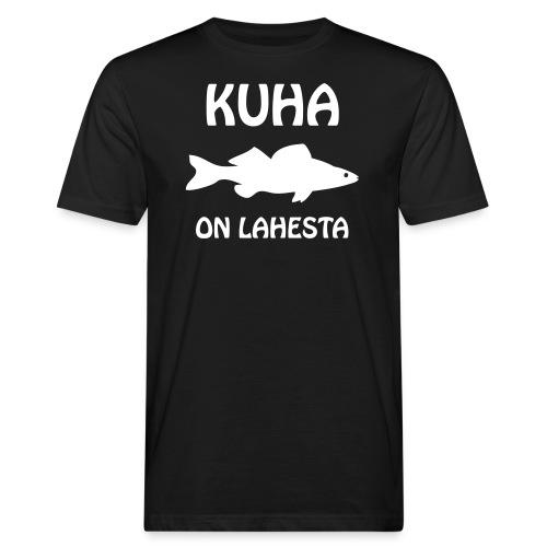 KUHA ON LAHESTA - Miesten luonnonmukainen t-paita