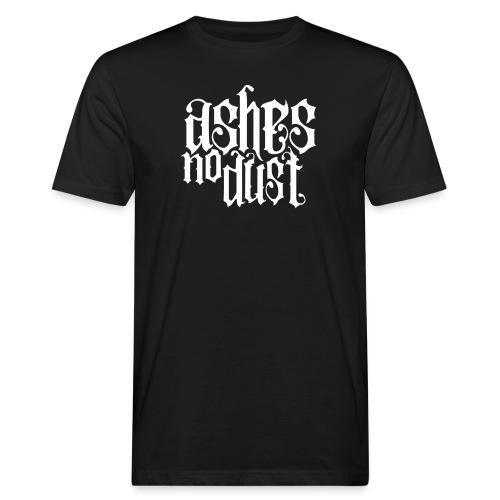 White logo Ashes No Dust - T-shirt bio Homme