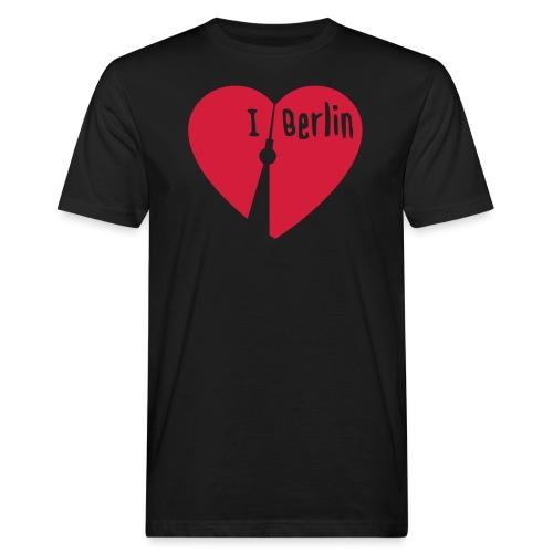 I love Berlin (1-farbig) - Männer Bio-T-Shirt