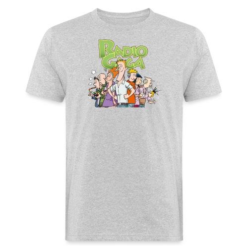 Radio Gaga-redaksjonen - Økologisk T-skjorte for menn
