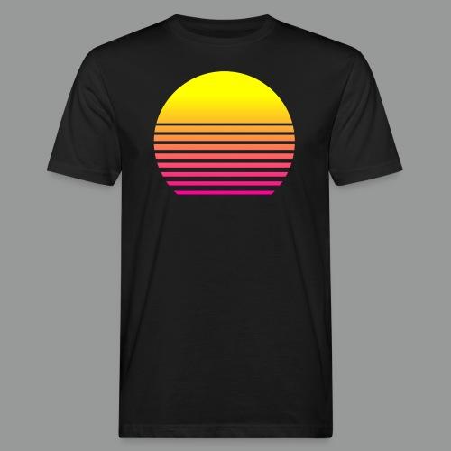 80s Sun - Männer Bio-T-Shirt