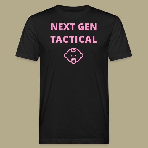 Tactical Baby Girl - Mannen Bio-T-shirt