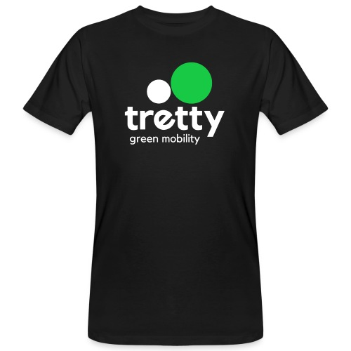 Tretty Logo - Männer Bio-T-Shirt