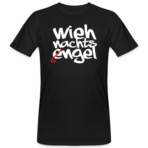 Wiehnachts-Bengel - norddeutsche Weihnachten - Männer Bio-T-Shirt