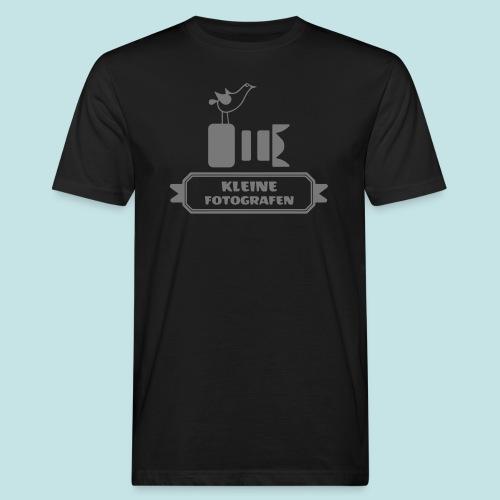 Kleine Fotografen AI SW - Männer Bio-T-Shirt