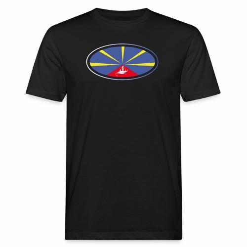 Paddle Reunion Flag - T-shirt bio Homme