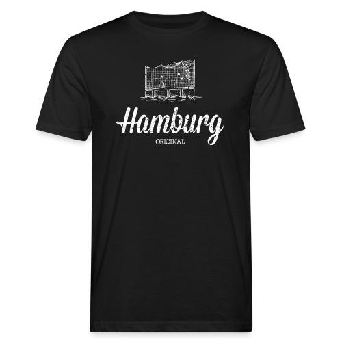 Hamburg Original Elbphilharmonie - Männer Bio-T-Shirt