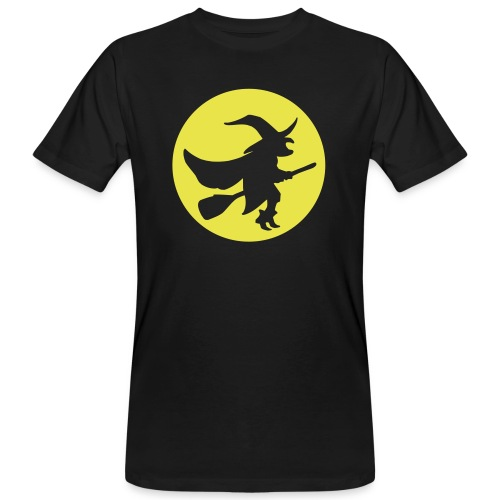 hexe_1farbig - Männer Bio-T-Shirt