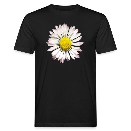 TIAN GREEN Garten - Gänse Blümchen - Männer Bio-T-Shirt
