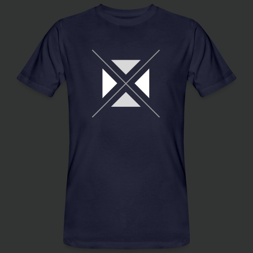 hipster triangles - Men's Organic T-Shirt