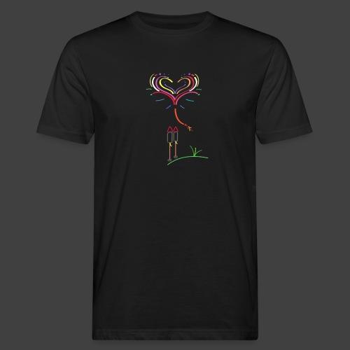 Feuerwerk - Männer Bio-T-Shirt