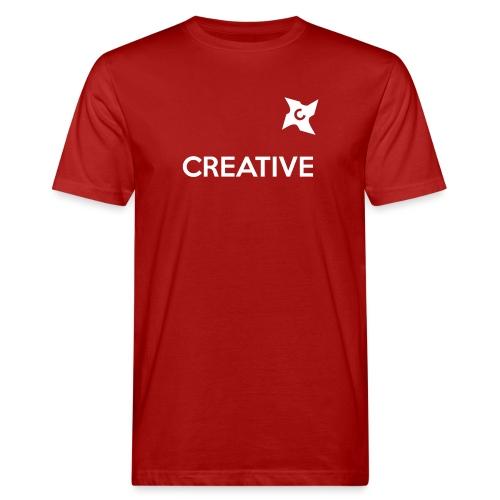 Creative long urban shirt - Organic mænd