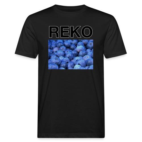 REKOpaita mustikka - Miesten luonnonmukainen t-paita
