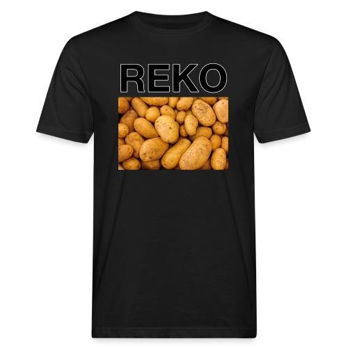 REKOpaita perunat - Miesten luonnonmukainen t-paita