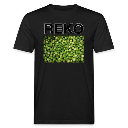REKOpaita ruusukaali - Miesten luonnonmukainen t-paita