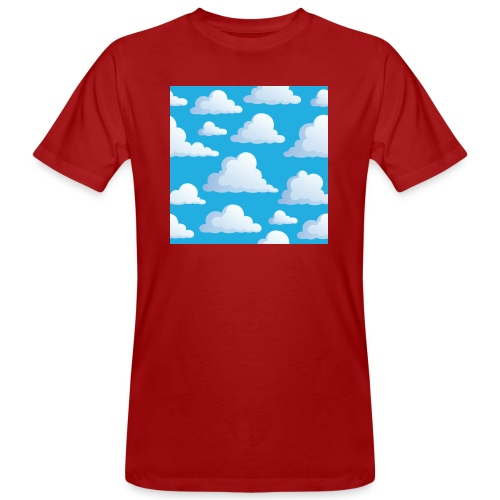 Cartoon_Clouds - Men's Organic T-Shirt