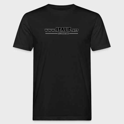 iSauf Logo 3 - Männer Bio-T-Shirt