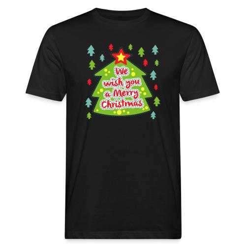 We wish you a Merry Christmas - Men's Organic T-Shirt