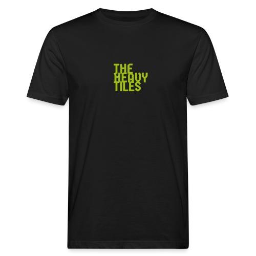 the heavy tiles green collection - T-shirt ecologica da uomo