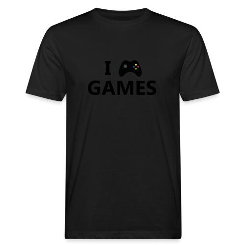 I Love Games 3 - Camiseta ecológica hombre