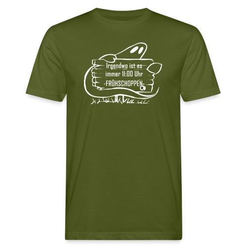 Fruehschoppen - Männer Bio-T-Shirt