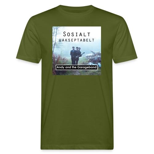 Sosialt Uakseptabelt - Økologisk T-skjorte for menn
