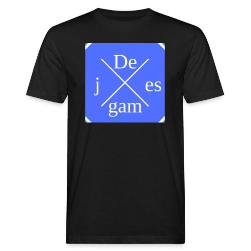 de j games kleren - Mannen Bio-T-shirt