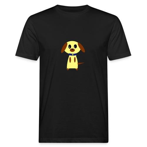 Dog Cute - Männer Bio-T-Shirt